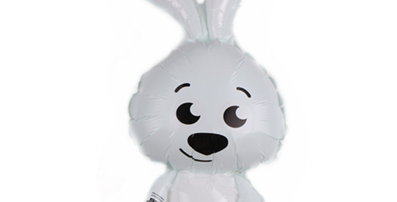 TBS Foil - Rabbit/ Bunny Shaped  foil Balloon