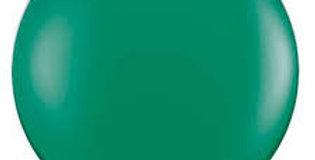 "TBS Latex-24"" Forest Green Matte Round Balloon"