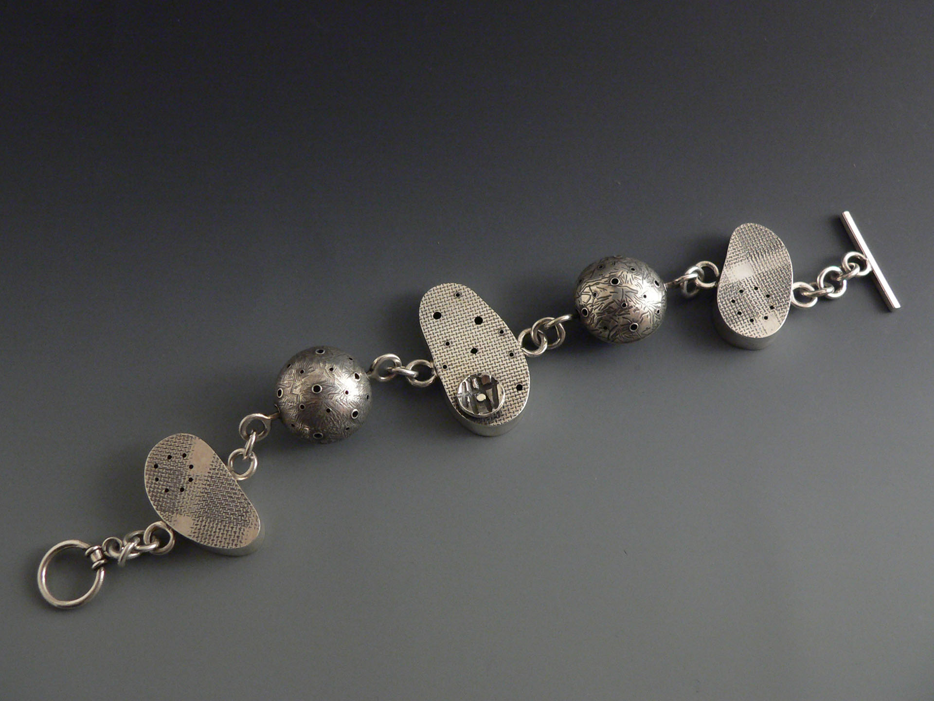 Hollowware Bracelet