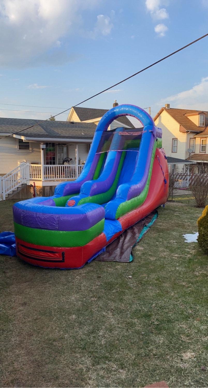 15' Rainbow Slide