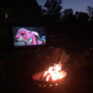 Inflatble Movie Screen