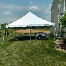 20x30 Pole Tent - $225.00