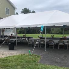 20x40 Pole Tent- $265.00