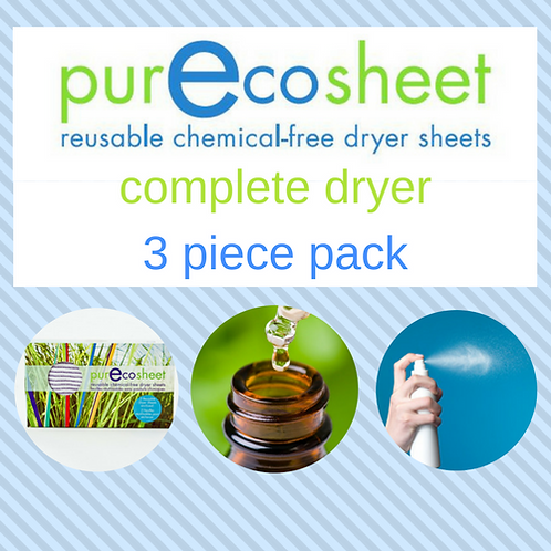 PurEcosheet Complete Dryer 3 Piece Pack