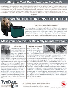 Getting the Most Out of Your TyeDee Bin-