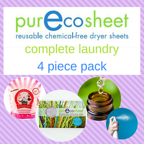 PurEcosheet Complete Laundry 4 Piece Pack