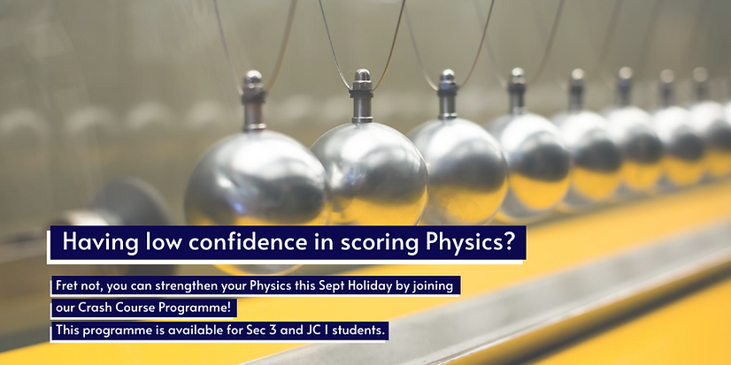 Physics crash course in this September
