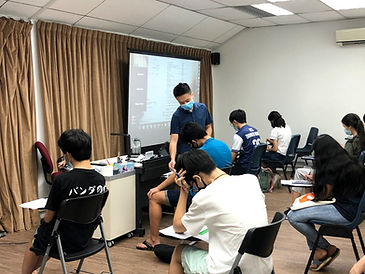 Physics tuition, crash course at Bishan