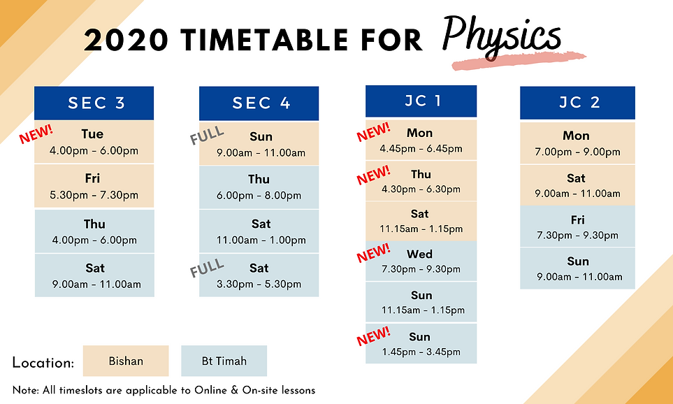 Timetable - Phy & POA (wide).png
