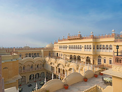 Inner courtyard view From Badal Mahal Te