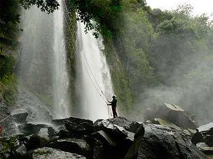 Waterfall Rappelling Manuel Antonio