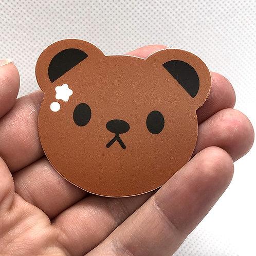 """Benny the Bear"" Sticker"