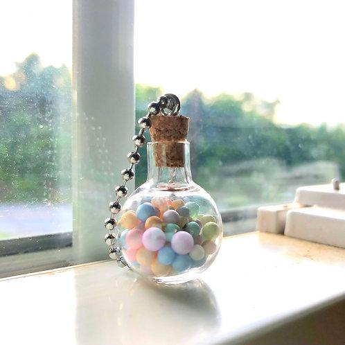 """Confetti"" Bottle Keychain"
