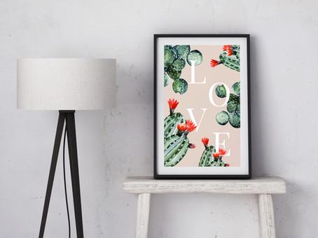 So malst Du Dir einen Kaktus!