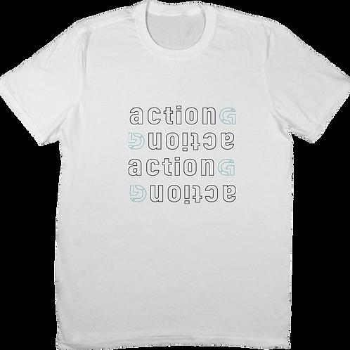 ACTION - White