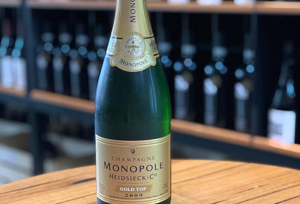 2009 Monopole Heidsieck & Co. (Chardonnay/Pinot Noir/Pinot Meunière)