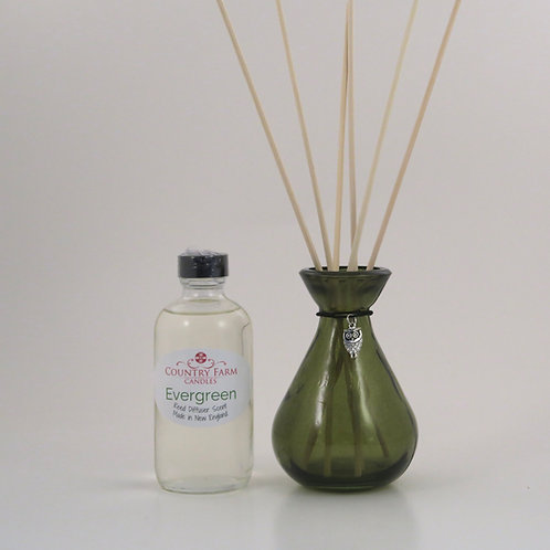 Evergreen Reed Diffuser Set