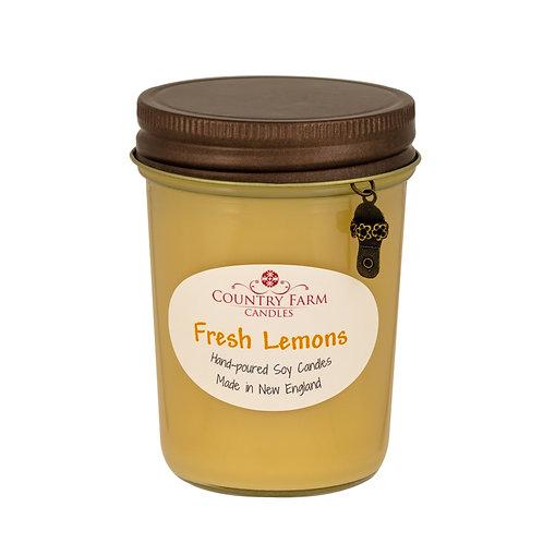 Fresh Lemons Charm Jar