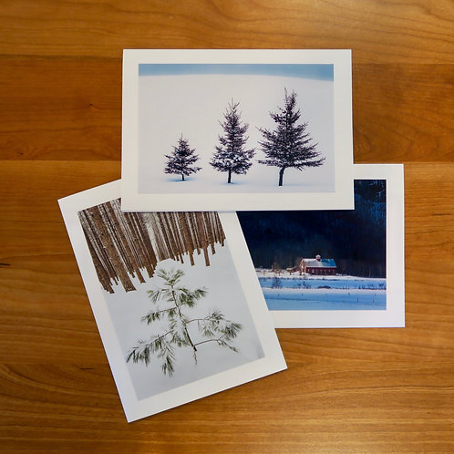Winter Beauty Card Collection