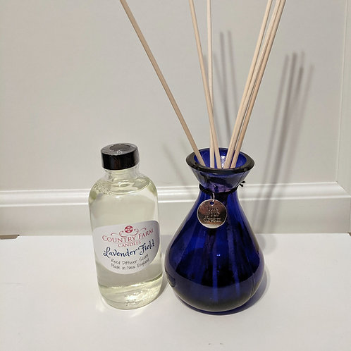 Lavender Field Reed Diffuser Set