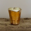 Thumbnail: Rose Gold Scalloped Glass Soy Candle