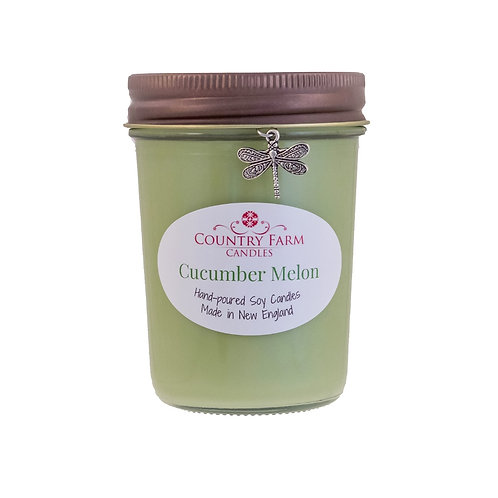 Cucumber Melon Charm Jar