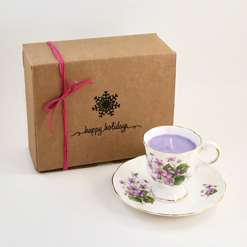 Teacup Candle Holiday Box (I)