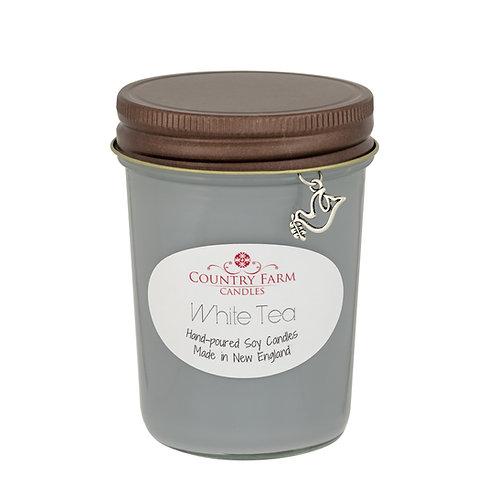 White Tea Charm Jar