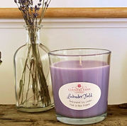 Country Farm Candles Soy Lavender Field