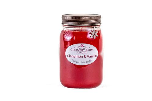 Cinnamon & Vanilla Charm Jar - Large