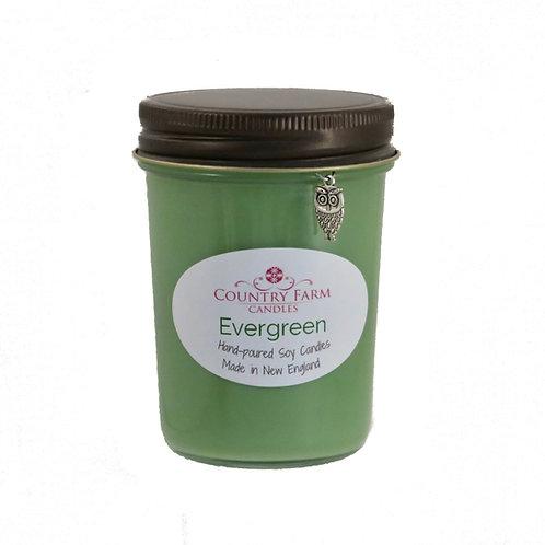 Evergreen Charm Jar