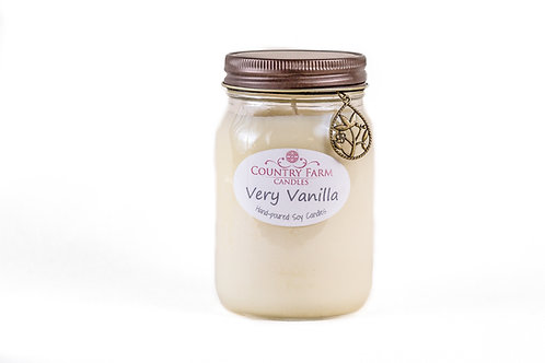 Very Vanilla Charm Jar - Large