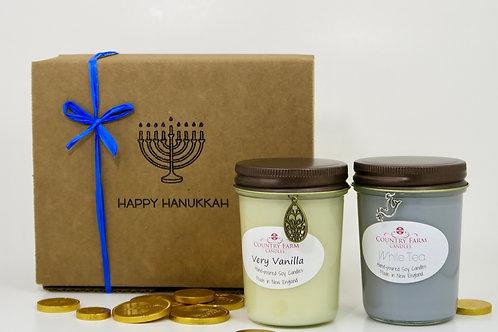 Happy Hanukkah Gift Box