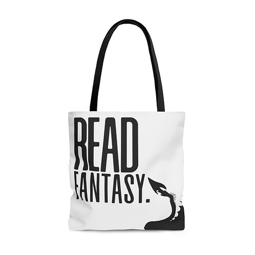 Read Fantasy/Science Fiction Large Tote Bag