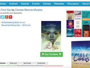 To Find You becomes A National Bestseller!