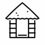 Verzeichnis von Schutzhütten und Biwakplätze