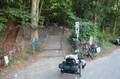 Treppe Fahrradweg