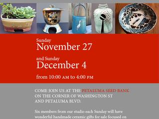 Holiday Sale at the Petaluma Seed Bank