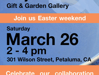 Moj-San Gift & Garden Gallery Collaboration