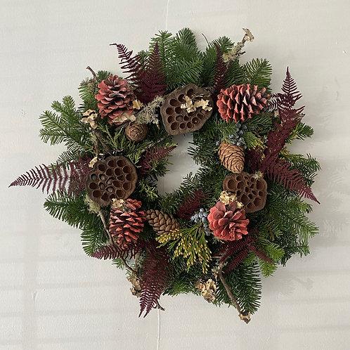 "Holiday Wreath - Large  16"""