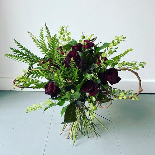 A Dozen Roses Bouquet