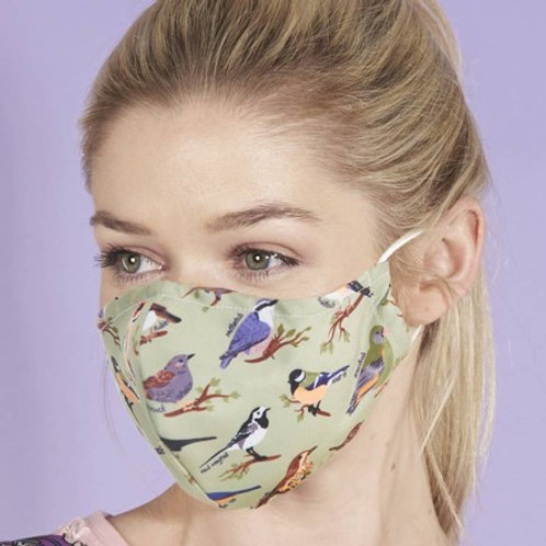 Eco Chic Reusable Face Mask Wild Birds