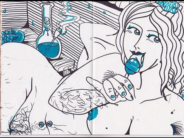 Notebook Nude #3