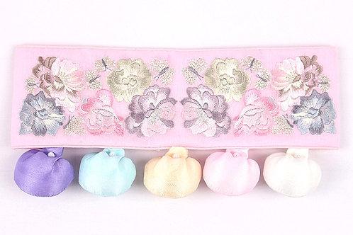 トルティ ピンク花柄