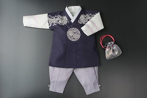 銀龍刺繡 パジチョゴリ 1~2歳