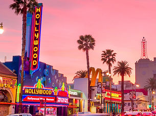 View-Of-Hollywood-Street-Neon-Signs-Big-