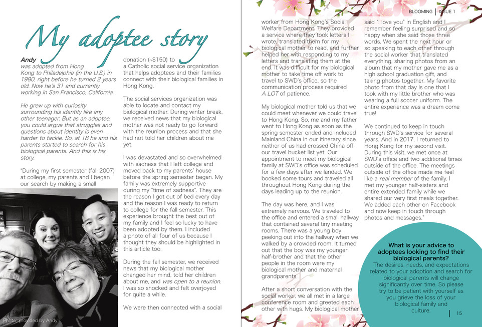 Blooming Magazine Issue 1 - page 14 and