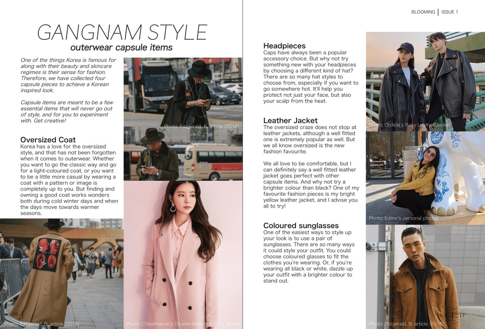 Blooming Magazine Issue 1 - page 16 and