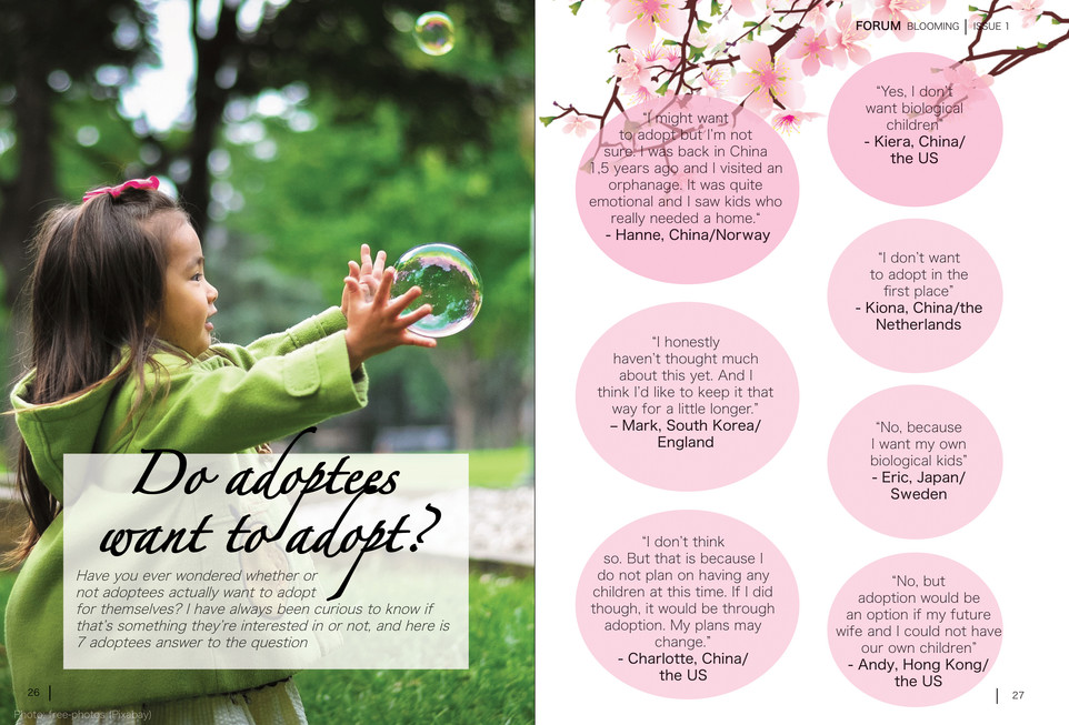 Blooming Magazine Issue 1 - page 26 and