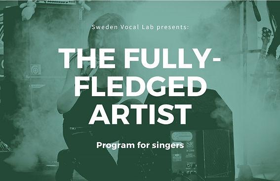complete artist program singers stockhol
